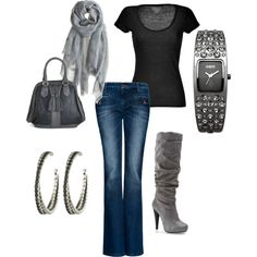 Back to Basics :), created by krystina1215 on Polyvore