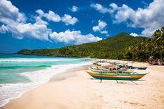 Traditional boats on Sabang beach, Puerto Princesa, Palawan island. Philippines Destinations, Philippines Cities, Philippines Travel Guide, Visit Philippines, Philippines Culture, Palawan Island, Coron Palawan, Boracay Island, Puerto Princesa