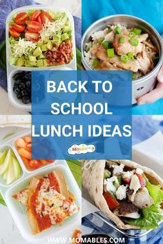 If you're in need of some school lunch ideas that are quick to make, easy to pack, kid-approved, and flexible enough to substitute when you don't have an ingredient on hand, you're at the right place. Thermos Lunch Ideas, Easy Lunch Boxes, Cold Lunches, Lunches And Dinners, Meals, Lunch Recipes, Real Food Recipes, Easy Recipes, Healthy Recipes