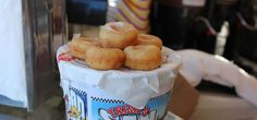 Piping hot and served in a bucket, Trish's Mini Donuts are irresistible! Quench your thirst with a freshly squeezed lemonade as you stroll down the PIER.