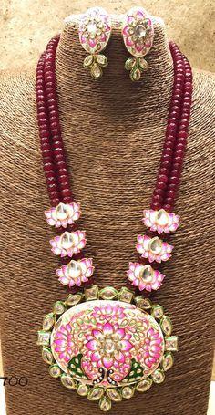 India Jewelry, Bead Jewellery, Beaded Jewelry, Jewelery, Diamond Jewelry, Bridal Jewellery, Gold Jewelry, Indian Wedding Jewelry, Silver Diamonds