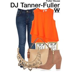 Inspired by Candace Cameron-Bure as DJ Tanner-Fuller on Fuller House.