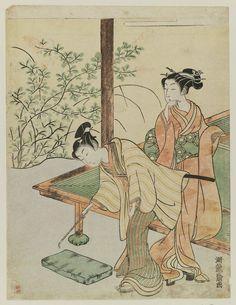 Isoda Koryusai Title:Spring Date:c. 1770