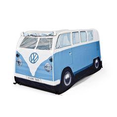 VW Camper Van Blue Kids Tent