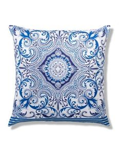 Buy the Large Morrocan Tile Print Cushion from Marks and Spencer's range.