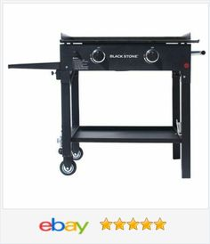 Outdoor Cooking Station Griddle Gas #Grill #BBQ Steel Portable #Camping Commercial