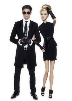 The Karl Lagerfeld Barbie & Ken Photos For The Colette Celebration