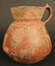 Jarro policromo cultura Maytas-Chiribaya