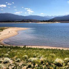 Granby Lake in Colorado