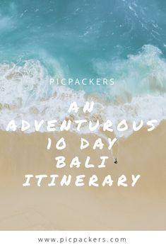 An Adventurous 10 Day Bali Itinerary 🌴 All the spots you need to know about by Picpackers Beautiful Waterfalls, Beach Fun, Beautiful Islands, 10 Days, Bali, Posts, Adventure, Messages, Fairytail
