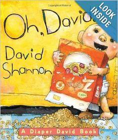 Oh, David! A Diaper David Book: David Shannon: 9780439688819: Amazon.com: Books
