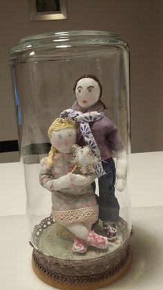 Elisa et Azelina en poupées