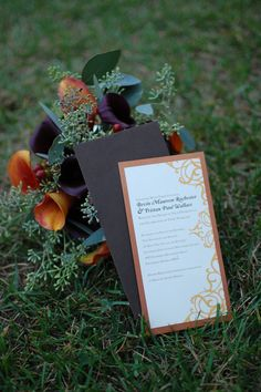 Wedding Invitation Wedding Coordination: Signature Weddings by Candice Photos: Shooting Spaar Photography Floral: Flowers by Joanne