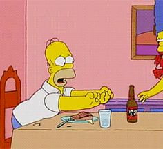 the simpsons simpsons bart simpson Los Simpsons simpsons gif Homer Simpson, Homer And Marge, Lisa Simpson, Simpsons Simpsons, The Simpsons Tv Show, Simpsons Quotes, Mood Gif, Phineas, Cartoon Gifs