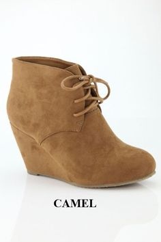 Uptown Girl Booties (available in Camel or Black)