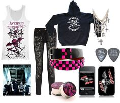 """""""Avenged Sevenfold!!!!"""" by bvbridesmaid on Polyvore"""