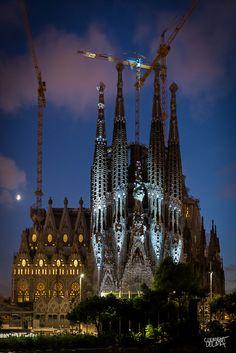 La Sagrada Familia, Barcelona Spain