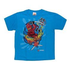Amazon.com: Lego Ninjago Kai Spin Attack Boys T-shirt: Clothing