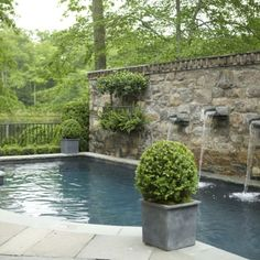 See our favorites from APLD's award winners, including the entry of APLD Landscape Designer of the Year, Paul Connolly. Small Backyard Pools, Small Pools, Outdoor Landscaping, Outdoor Pool, Outdoor Ideas, Outdoor Spaces, Outdoor Living, Landscape Design, Garden Design