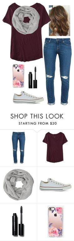 """Fall day"" by nknudson-04 on Polyvore featuring Paige Denim, Aéropostale, John Lewis, Converse, Bobbi Brown Cosmetics and Casetify"