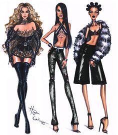 The #Trinity - #Beyoncé #Aaliyah #Rihanna