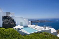 One of the resort's villas.