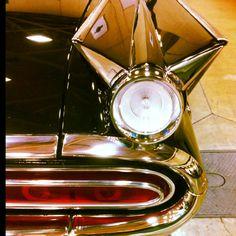 1959 Pontiac Bonneville Convertible - gorgeous tail light.