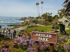 Heisler Park 375 Cliff Drive, Laguna Beach, CA 92651 Beautiful beach & marine sanctuary