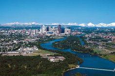 Calgary, Alberta, Canada...