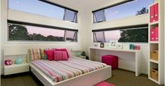 Modern bedroom - photo