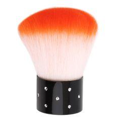 1pc Nail Brush For Acrylic & UV Gel Nail Polish Art Decor Nails Dust Cleaner Multi Function Art Nail Tools Drop Shipping