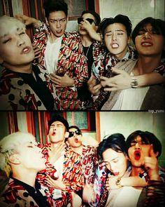 My boys ♡♡ Gd Bigbang, Bigbang G Dragon, Daesung, Yg Entertainment, Big Bang Memes, Gd & Top, Big Bang Top, G Dragon Top, Choi Seung Hyun