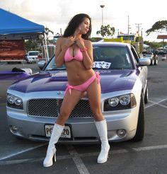 Dodge charger rt, Charger rt and Dodge Charger Srt8, Charger Rt, Trucks And Girls, Car Girls, Bikini Modells, Hot Rides, Hot Cars, Mopar, Hot Wheels