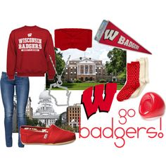 Wisconsin Badgers, duh!