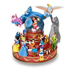 Bandleader Mickey Mouse & Friends Snowglobe