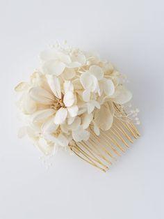 Vintage floral hair pin