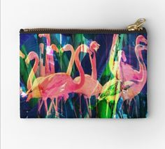 Redbubble flamingo makeup bag Makeup Bags, Flamingo, Finding Yourself, Unique, Creative, Design, Sewing Makeup Bag, Flamingos, Design Comics