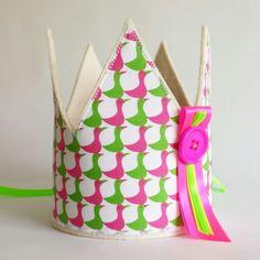 Kroon met eendjes /crown with duck www.hipkado.nl