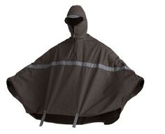 John Boultbee oxford roll up rain cape - how awesome! comes in small - xl