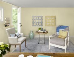 Color of the Year 2013 - Lemon Sorbet - Benjamin Moore Paint Colors -Yellow Interior Yellow Room, Yellow Interior, Room Paint, Color Trends, Trending Paint Colors, Color Inspiration, Interior Design, Home Decor, Room