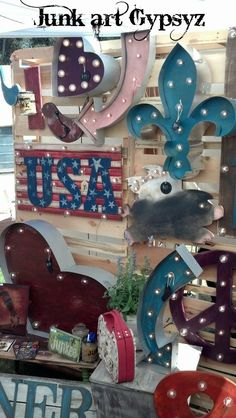 """The """"Junk Art Gypsyz"""" will be joining us for our March 1-3, 2013,TVM """"Vintage Garden"""" show!"""