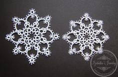 Joyería de Izabelka: Copo de nieve