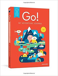 Go! (Red): My Adventure Journal: Wee Society: 9781524763022: Amazon.com: Books