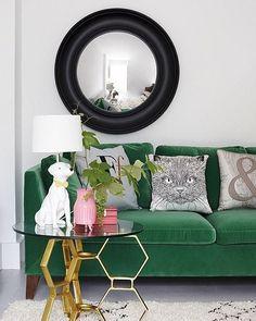 Passion for green #design #decor #interiordesign #interiordecor