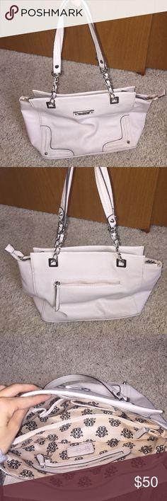 Jessica Simpson purse Never used. Cream colored purse Jessica Simpson Bags Totes