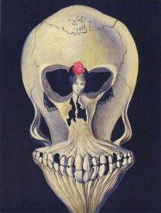 "Salvador Dali ""Skull with Dancer"""