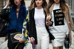 street chic clothing for women fall 2014 | LONDON Fashion Week Fall-Winter 2014-15-Street Style11.jpg