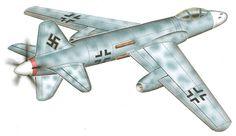 El Focke Wulf P031.0251-13 era un Todo - tiempo mezcla de energías un poco como el Do335, los 2 chorros sólo deben usarse si el avión fue atacado por lo que podría escapar techo 550 mph de velocidad y la Noche: 45869ft resistencia 5 horas Armamento: 2x 30mm cañon mk108 4x 30mm 213 mg revólver-cañon