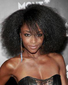 yaya dacosta_afro hair