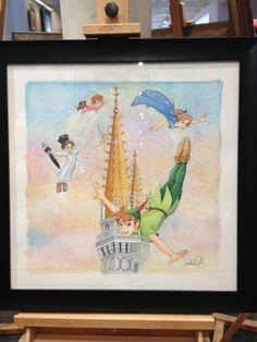 DisneyLifestylers – Downtown Disney Merchandise Update! Peter Pan painting Peter Pan Painting, Disney World Merchandise, Disney Wishes, Peter Pan Disney, Downtown Disney, Disney Home, Disney World Trip, Disney Stuff, Neverland
